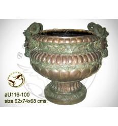 Vasque de jardin en bronze au116-100