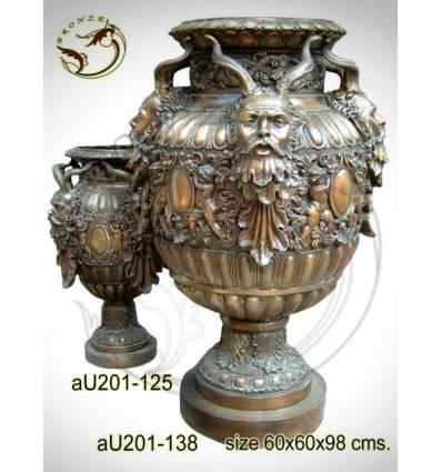 Vasque de jardin en bronze au201-138x