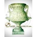 Vasque de jardin en bronze au203-100