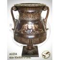Vasque de jardin en bronze au204-100