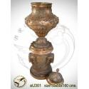 Vasque de jardin en bronze au301-100