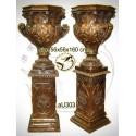 Vasque de jardin en bronze au303-100