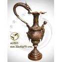 Vasque de jardin en bronze au503-100