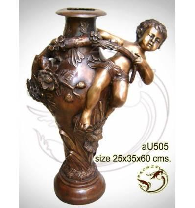 Vasque de jardin en bronze au505-100