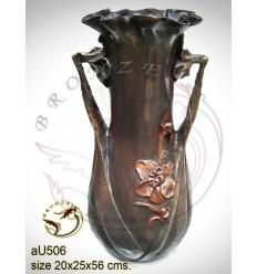 Vasque de jardin en bronze au506-100