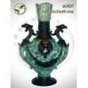 Vasque de jardin en bronze au507-100