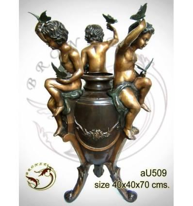 Vasque de jardin en bronze au509-100