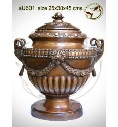 Vasque de jardin en bronze au601-100