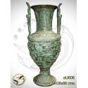 Vasque de jardin en bronze au606-100