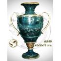 Vasque de jardin en bronze au610-100