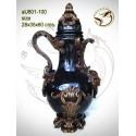 Vasque de jardin en bronze au801-100