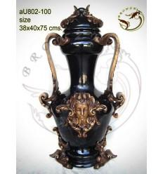 Vasque de jardin en bronze au802-100