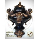 Vasque de jardin en bronze au803-100