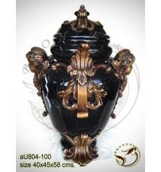 Vasque de jardin en bronze au804-100