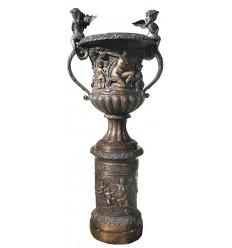 Vasque de jardin en bronze BRZ0302