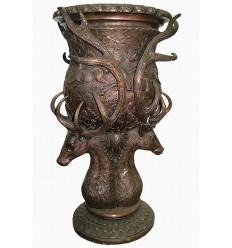 Vasque de jardin en bronze BRZ0413 ( 119 x 68 cm )  117 kgs