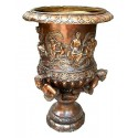 Vasque de jardin en bronze BRZ0501