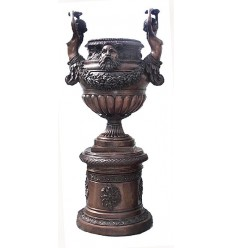 Vasque de jardin en bronze BRZ0519