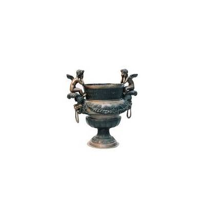 Vasque de jardin en bronze BRZ0135