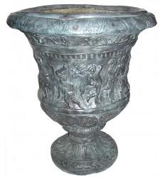 Vasque de jardin en bronze BRZ0298v