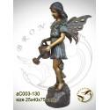 Sculpture bronze enfant ac003-130