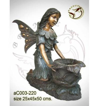 Sculpture bronze enfant ac003-220