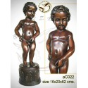 Sculpture bronze enfant ac022-100