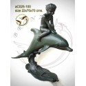Sculpture bronze enfant ac025-100