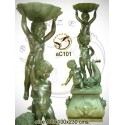 Sculpture bronze enfant ac101-100