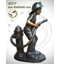 Sculpture bronze enfant ac217-100