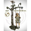 Sculpture bronze enfant ac221-100