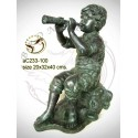 Sculpture bronze enfant ac233-100