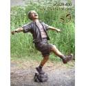 Sculpture bronze enfant ac429-400