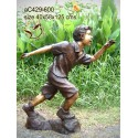 Sculpture bronze enfant ac429-600