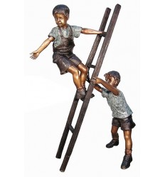 Sculpture bronze enfant BRZ1300