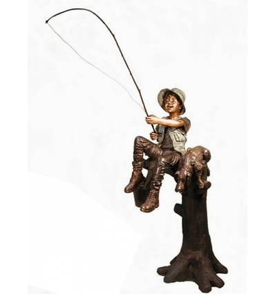 Sculpture bronze enfant BRZ1305