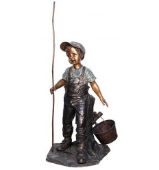 Sculpture bronze enfant BRZ1306