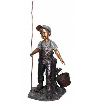 Sculpture bronze enfant BRZ1306