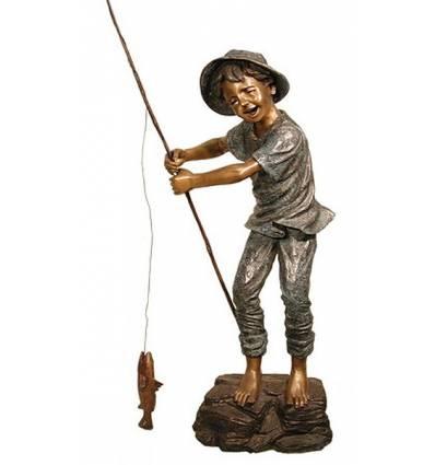 Sculpture bronze enfant BRZ1307