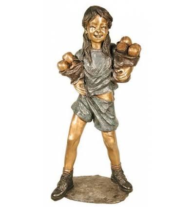 Sculpture bronze enfant BRZ1309