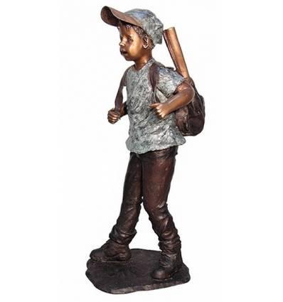 Sculpture bronze enfant BRZ1312