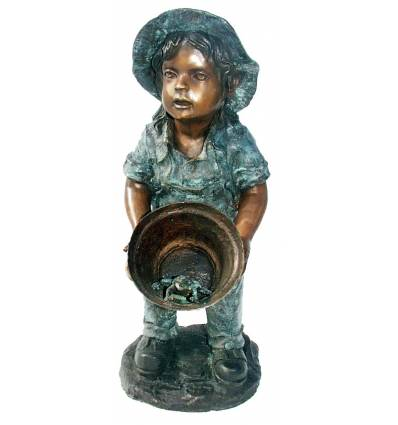 Sculpture bronze enfant BRZ0226