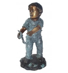 Sculpture bronze enfant BRZ0227