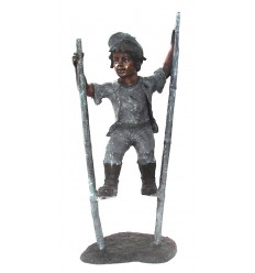 Sculpture bronze enfant BRZ0231