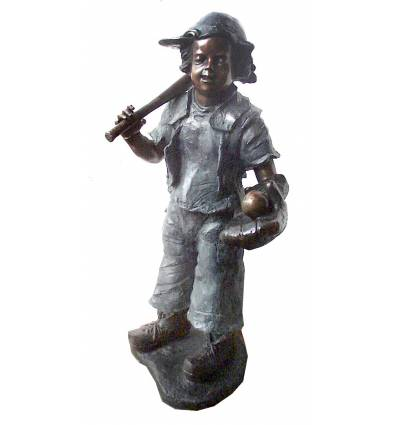 Sculpture bronze enfant BRZ245