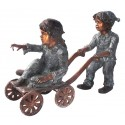 Sculpture bronze enfant BRZ0250