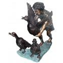 Sculpture bronze enfant BRZ0748