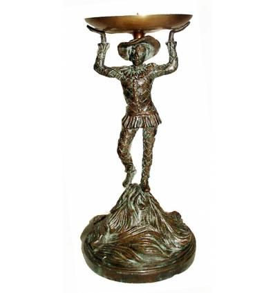 Bougeoire de table en bronze BRZ287