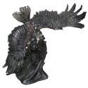 aigle en bronze BRZ0956 ( H .84 x L .81 Cm ) Poids : 47 Kg