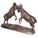 Bélier en bronze BRZ1382 ( H .30 x L .46 Cm ) Poids : 5.5 Kg